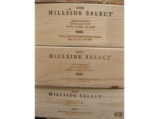 Shafer Cabernet Sauvignon, Hillside Select 1997-2007 (66)