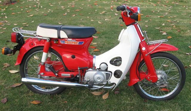 1981 Honda C70 Frame no. DA0106BS124737 Engine no. DA01E2124768