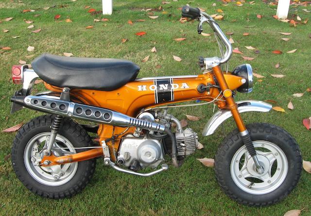 1970 Honda CT70  Frame no. CT70-138755 Engine no. CT70E280329