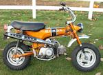 1970 Honda CT70  Frame no. CT70-138755 Engine no. CT70E280329
