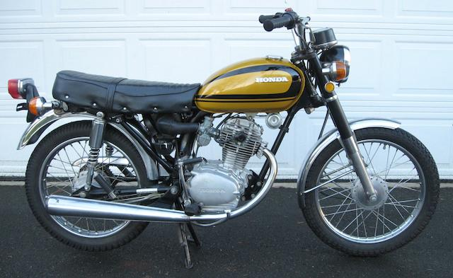 1975 Honda CB125S Frame no. CB125S-1225873 Engine no. CB100E1211348