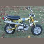 1972 Honda CT70  Frame no. CT70-2026914 Engine no. CT70E237558