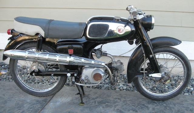 1966 Honda S65 Frame no. S65YA037775 Engine no. S65E123050