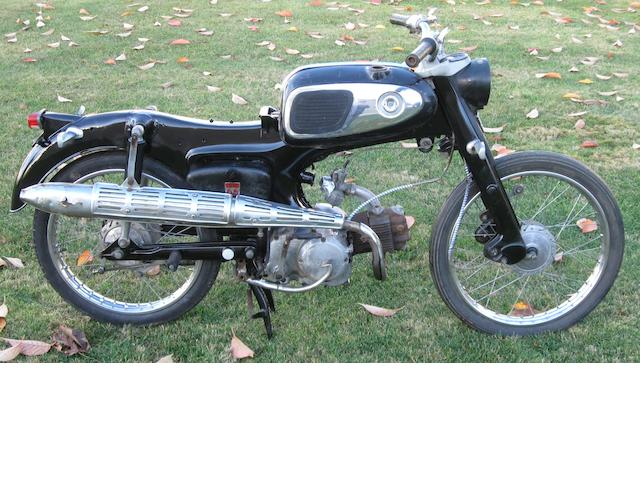 1967 Honda S65 Frame no. S65YA038206 Engine no. 200E07755