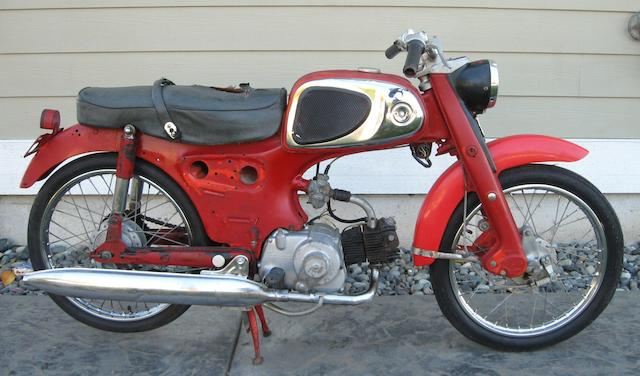 1964 Honda Sport 50 Frame no. C110D451245 Engine no. C100E58443