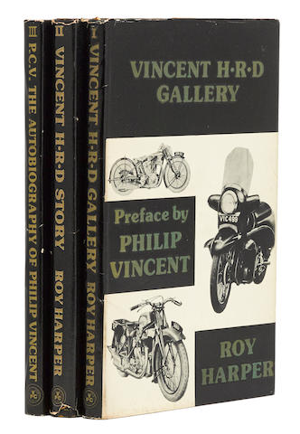 Harper, Vincent: The authorised record of the H.R.D and Vincent era, three volume set,