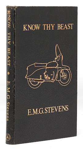 E.M.G. Stevens: Know Thy Beast,