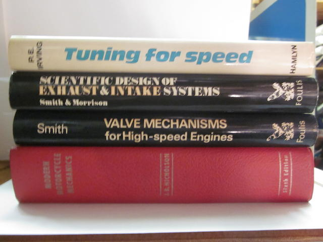 A collection of Technical Motorcycle titles,