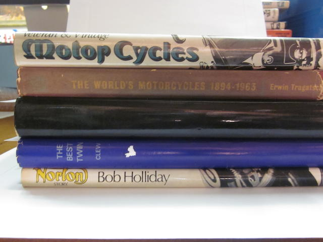 A grouping of English motorcycle titles,
