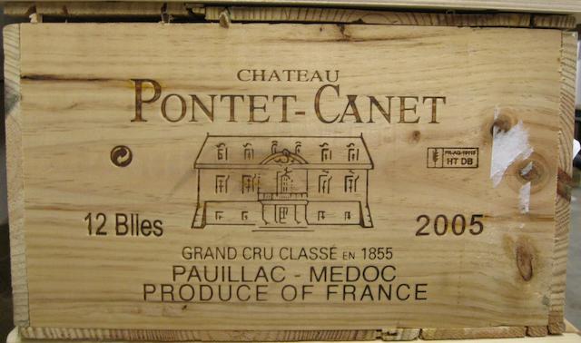 Château Pontet-Canet 2005 (12)