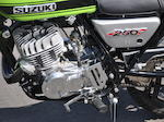 1971 Suzuki TS250 Frame no. TS2503-16485