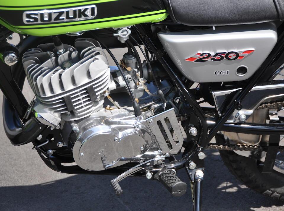Bonhams : 1971 Suzuki TS250 Savage Frame no  TS2503-16485
