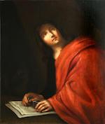 Italian School, 18th Century Saint Matthew; Saint John the Evangelist (a pair) 30 3/4 x 24 1/4in