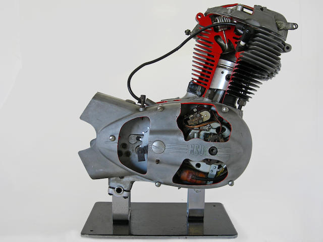 A good NSU cutaway display engine,