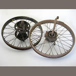 A pair NOS Ner-a-car wheels,