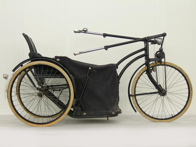 A Dutch hand powered tricycle,