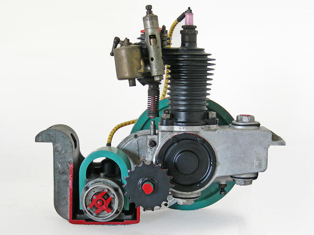 An Auto Wheels display motor,