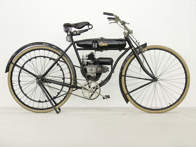 From a Prominent European Collection,,c.1919 Evans Power-Cycle  Engine no. 21796