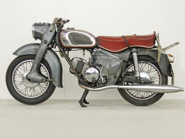From a Prominent European Collection,,1955 Victoria KR 21 200cc Frame no. 1941 Engine no. 21/1999