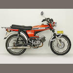 "Puch N50 ""Grand Prix"" Moped Frame no. 2105581 Engine no. 2103987"