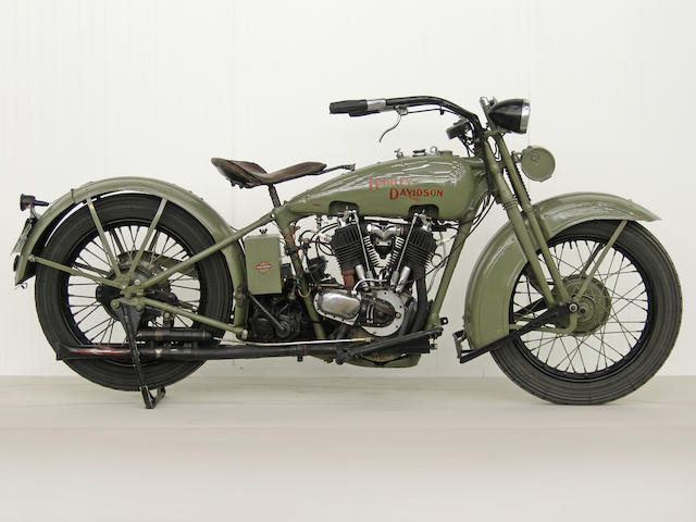 From a Prominent European Collection,,1929 Harley-Davidson Model J Frame no. 291615 Engine no. 29 J 9904