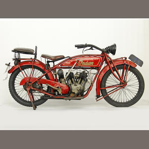 1923 Indian Scout Frame no. 1411 Engine no. 51T951