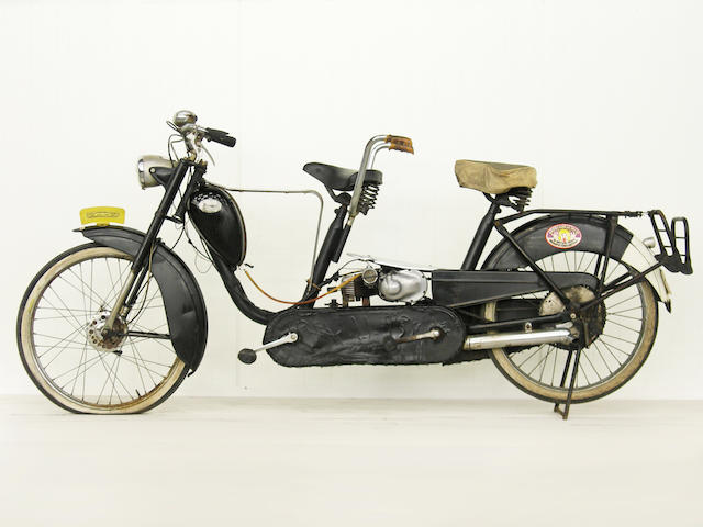 From a Prominent European Collection,,c.1956 Eysink Renata 50cc Model B Tandem Moped Frame no. 75928 Engine no. 858762