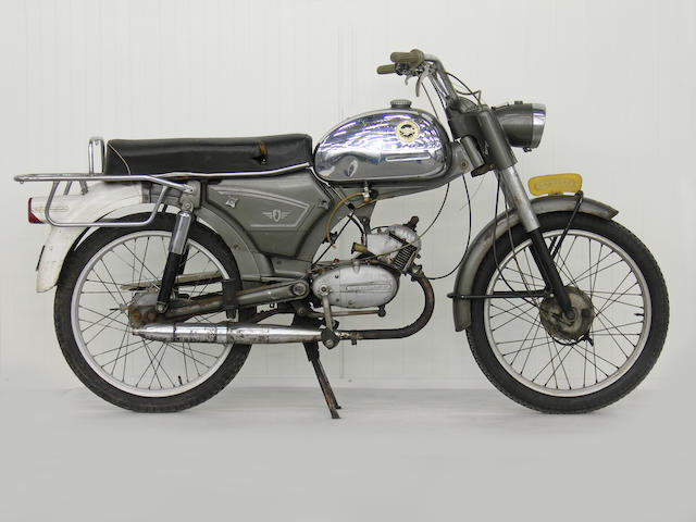 From a Prominent European Collection,,c.1970 Zündapp 49cc Sports Frame no. 5537356 Engine no. 3646921