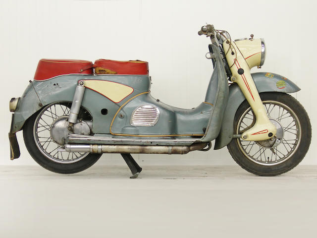 From a Prominent European Collection,,1957 Victoria R200 Motor Scooter Frame no. 472 Engine no. R313