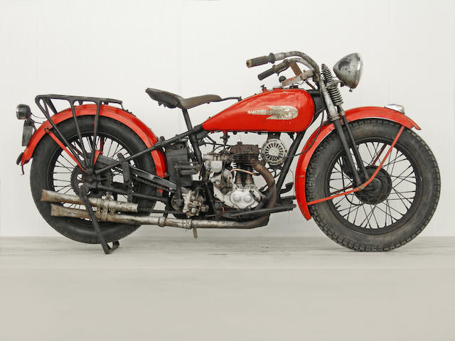 From a Prominent European Collection,,1934 Harley-Davidson 34B Single Frame no. 841251 Engine no. 34B 1112