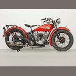 1934 Harley-Davidson Model B Frame no. 841251 Engine no. 34-B-1112