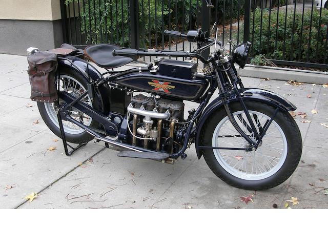 1922 Henderson Deluxe Long Tank