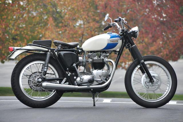 1968 Triumph 650 Frame no. TR6GDU32615 Engine no. BD40816TR6R