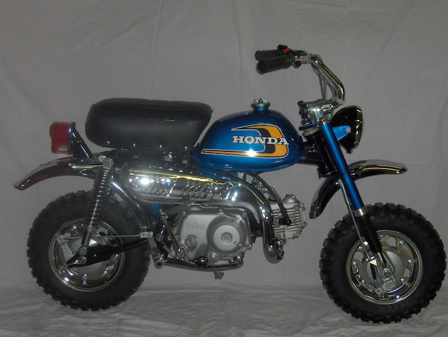 1975 Honda Z50 Minitrail Frame no. Z50A5032960 Engine no. Z50AE-5032941