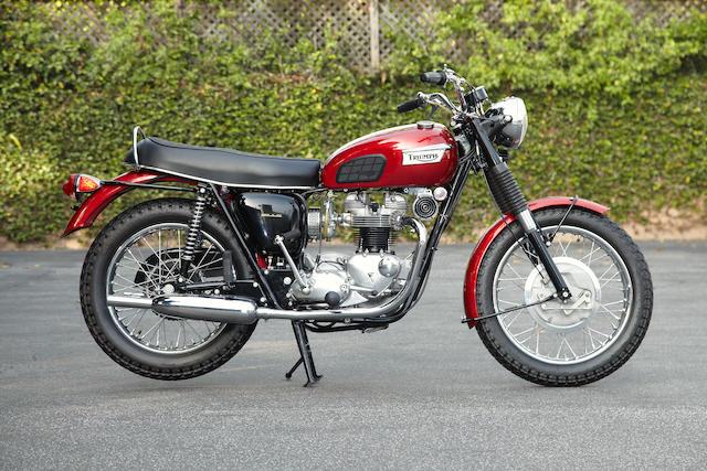 1969 Triumph 650cc TR6R Frame no. TR6RNC02479 Engine no. TR6RNC02479