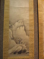 After Soami (1485?-1525), (Edo period)<BR />Haboku landscapes