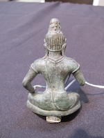 A copper alloy figure of Raktalokeshvara Srivijaya, Peninsular Thailand, 8th-9th century