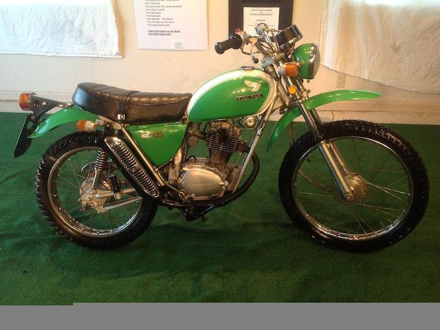 1975 Honda SL125