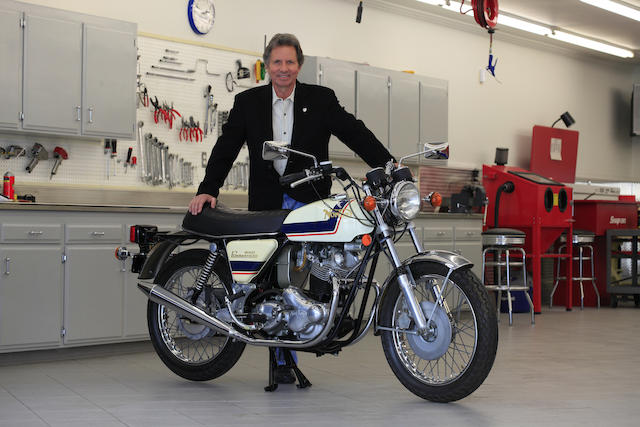 Former property of Eddie Lawson, 8 miles from new,1975 Norton 850cc Commando Roadster Frame no. 317998