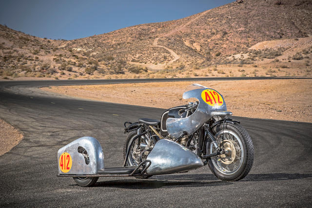 1954 BMW Rennsport RS54 Sidecar  Chassis no. 254007 Engine no. 07