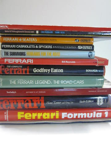 A grouping of Ferrari titles,
