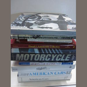 A quantity of titles relating to motor car collections and others,