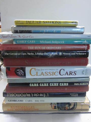 A lot of miscellaneous motoring titles,