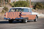 Formerly owned by the lead singer of The Kingston Trio,1956 Pontiac Safari Two-Door Station Wagon  Chassis no. W756H11116