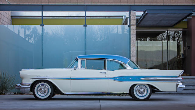 1957  Pontiac Star Chief Two-door Hardtop  Chassis no. C857H9860