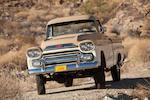 1959 Chevrolet 3100 Apache Fleetside Deluxe NAPCO Pickup Truck    Chassis no. 3A59J105986
