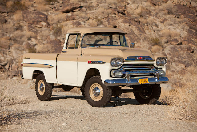 1959 Chevrolet Apache 4WD Pickup  Chassis no. 3A59J105986