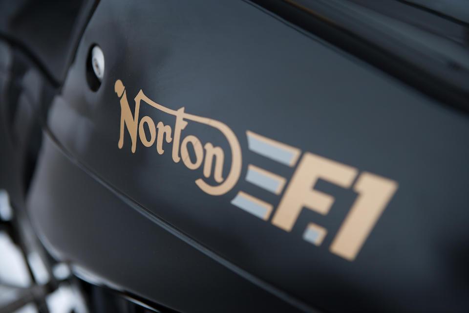 1989 Norton F1 Rotary Pre-Production Prototype Frame no. P55004 Engine no. P55004