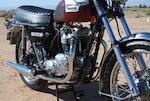 1976 Triumph TR7RV Tiger 750 Frame no. TR7RV EN71658 Engine no. TR7RV EN71658