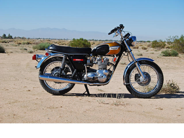 1974 Triumph T150V T150V Trident Frame no. T150V JJ40875 Engine no. T150V JJ40875